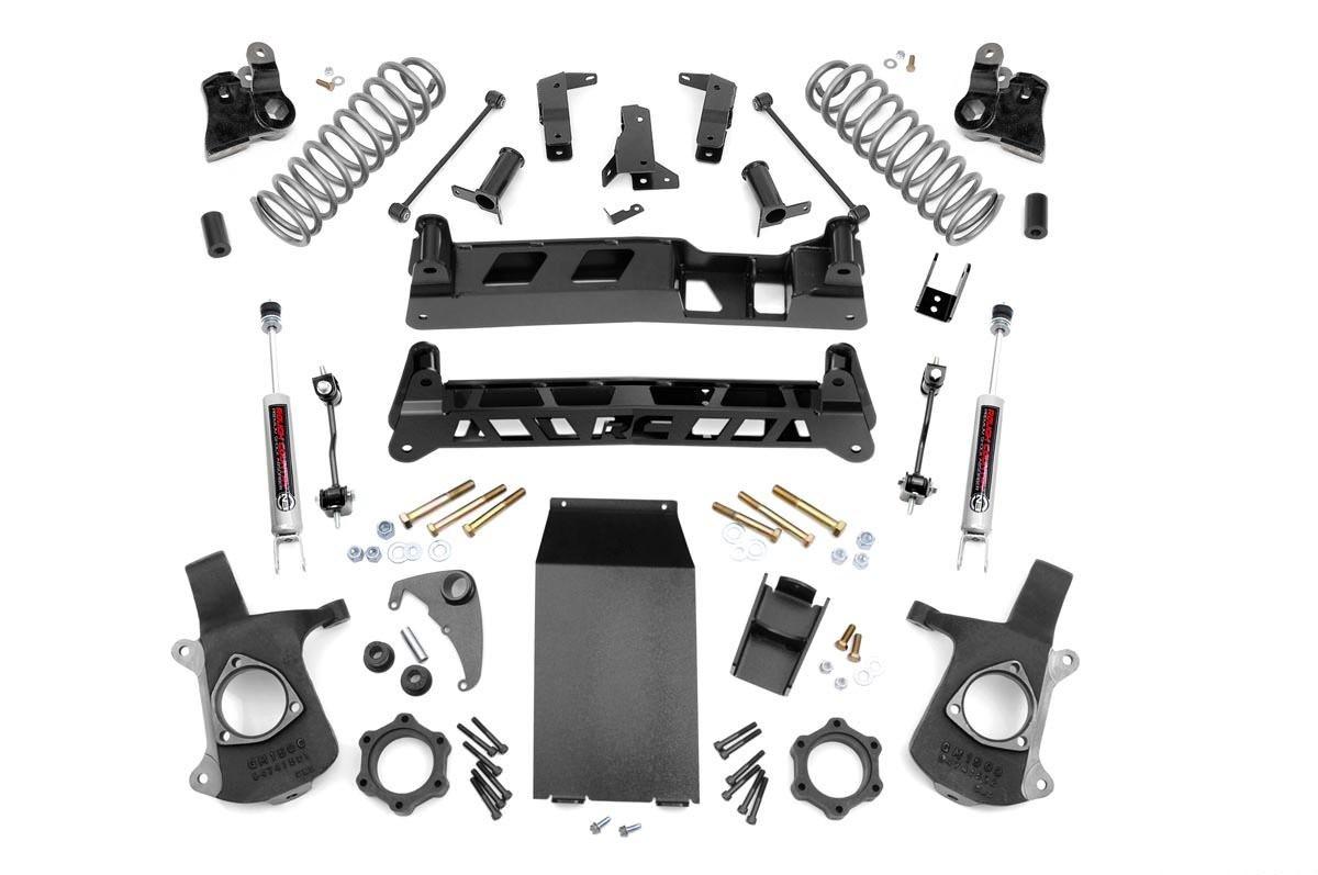 6in Cadillac NTD Suspension Lift Kit (02-06 Escalade)