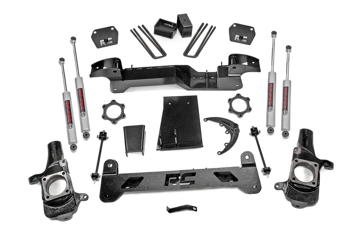 6in GM Suspension Lift Kit (01-06 1500HD 4WD)