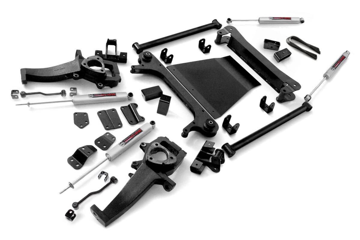 4in Dodge Suspension Lift Kit