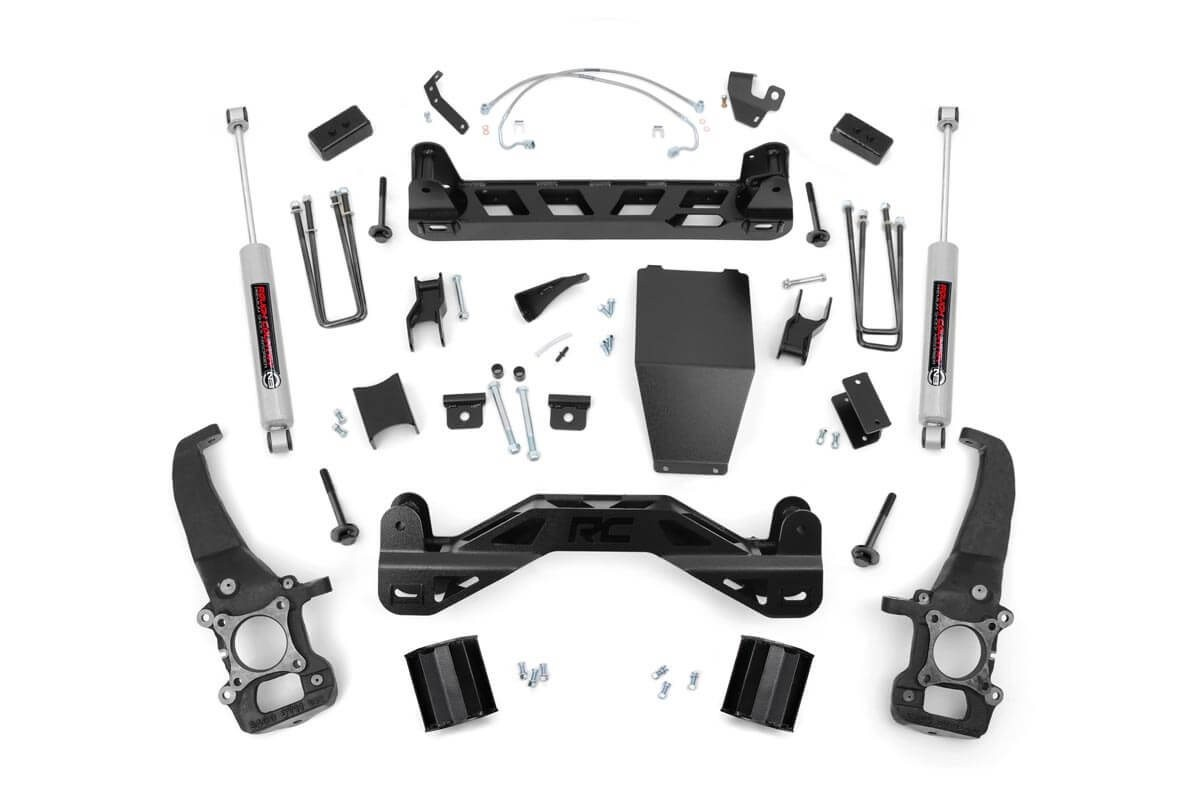4in Ford Suspension Lift Kit (04-08 F-150 4WD)