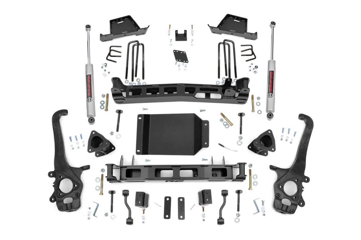 6in Nissan Suspension Lift Kit (04-15 Titan)