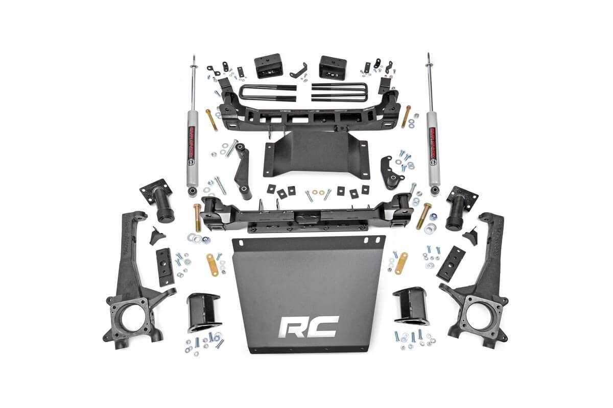 4in Toyota Suspension Lift Kit (16-19 Tacoma 4WD/2WD)