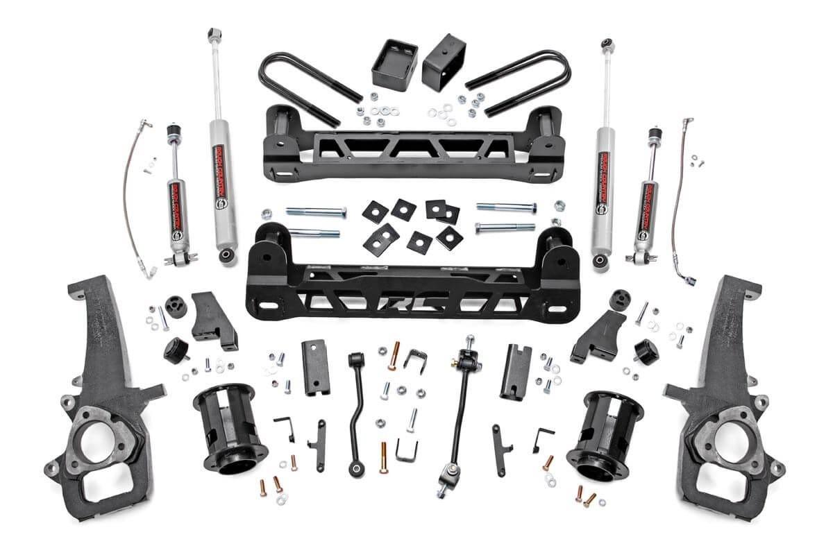 6in Dodge Suspension Lift Kit (06-08 Ram 1500 2WD)