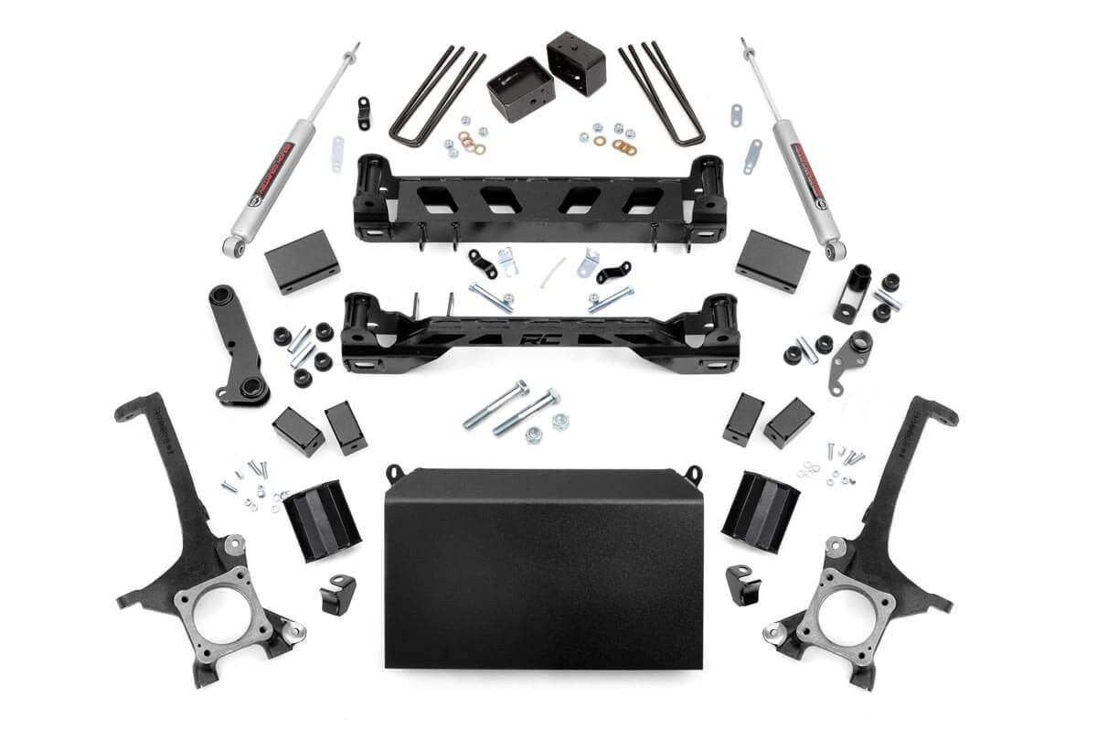 4in Toyota Suspension Lift Kit (16-19 Tundra 4WD/2WD)