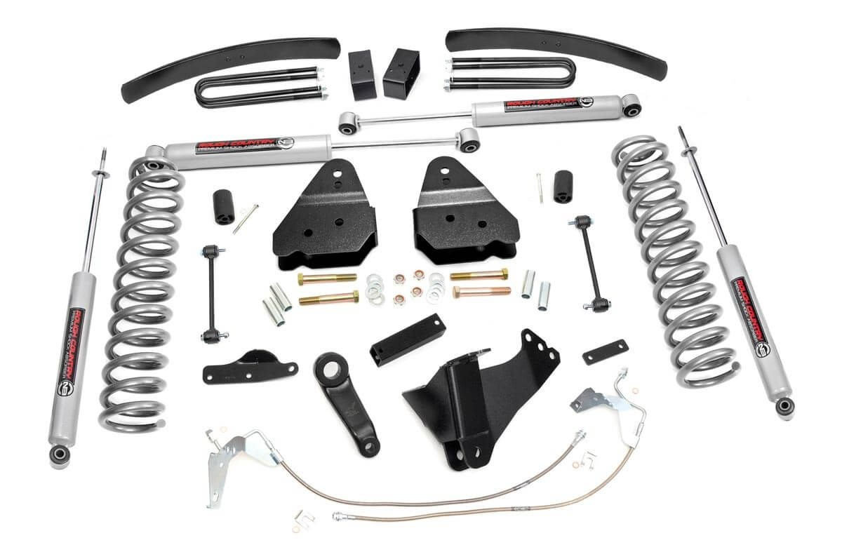 6in Ford Suspension Lift Kit (08-10 F-250/350 4WD)