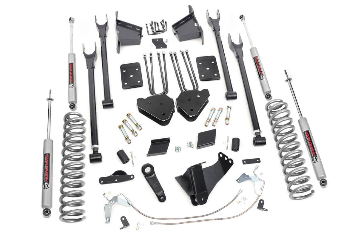 6in Ford 4-Link Suspension Lift Kit (11-14 F-250 4WD)
