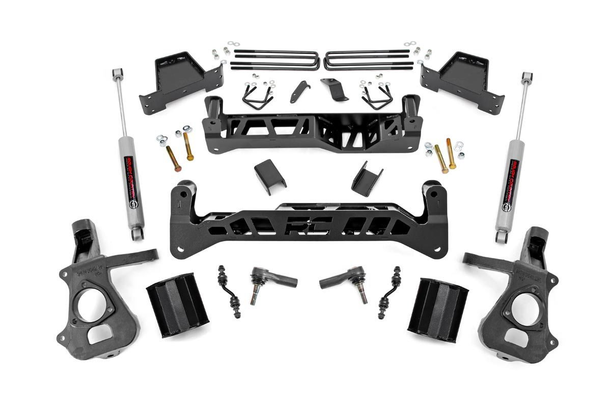 7in GM Suspension Lift Kit (14-18 1500 PU 2WD)