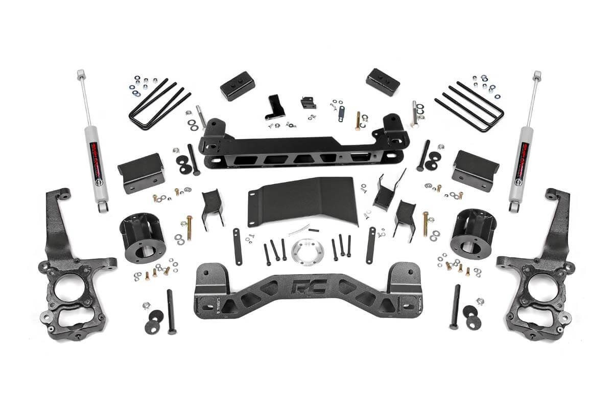4in Ford Suspension Lift Kit (15-19 F-150 4WD)