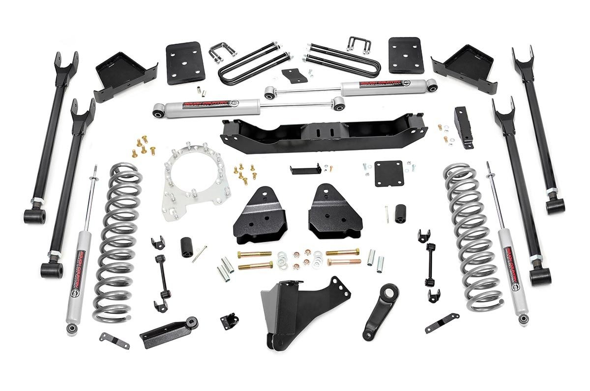 6in Ford 4-Link Suspension Lift Kit (17-19 F-250/350 4WD | Diesel)