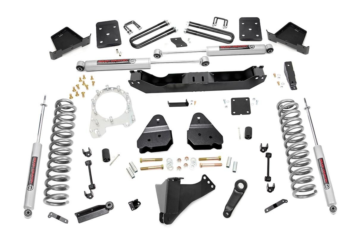 4.5in Ford Suspension Lift Kit (17-19 F-250/350 4WD | Diesel)