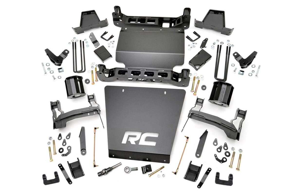 7in GMC Suspension Lift Kit (14-16 1500 Denali PU 4WD w/MagneRide)