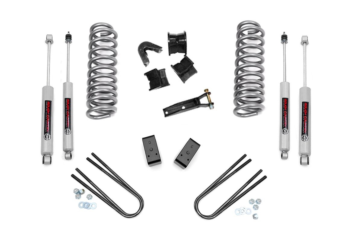 4in Ford Suspension Lift Kit (78-79 Bronco 4WD)