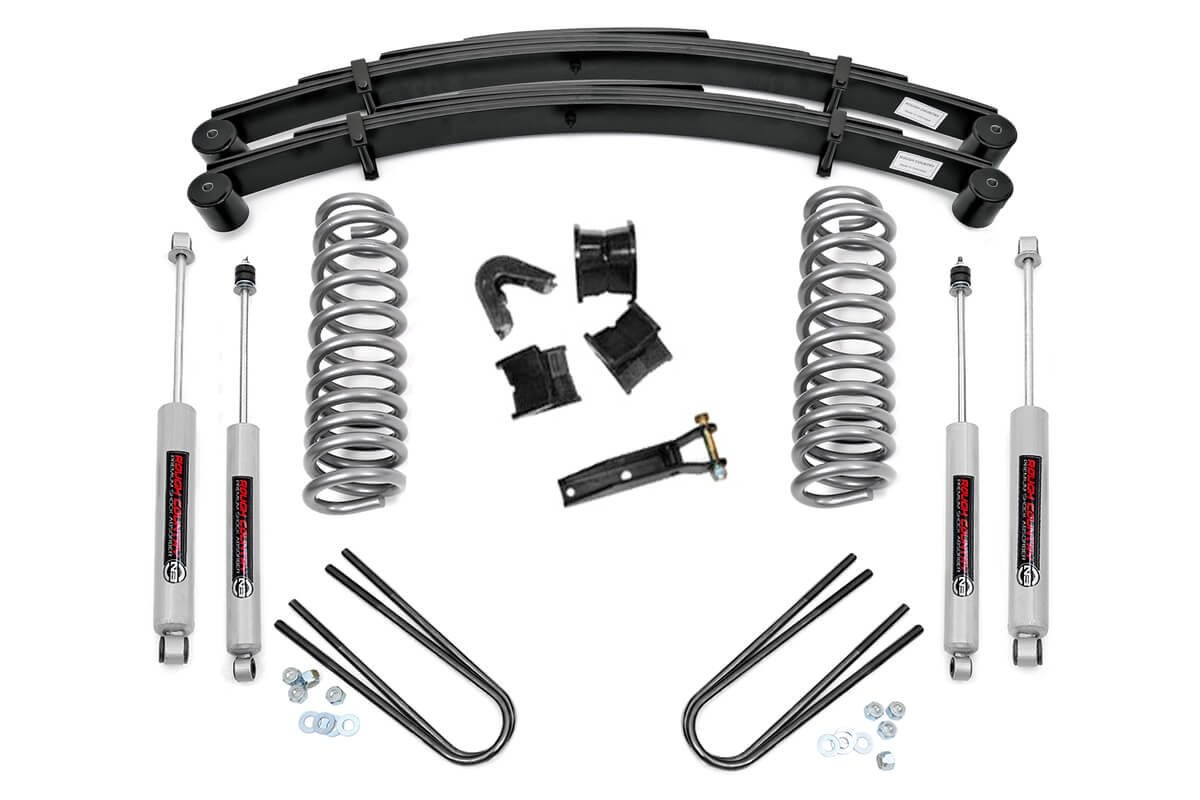 4in Ford Suspension Lift System (77-79 F-100/150 4WD)