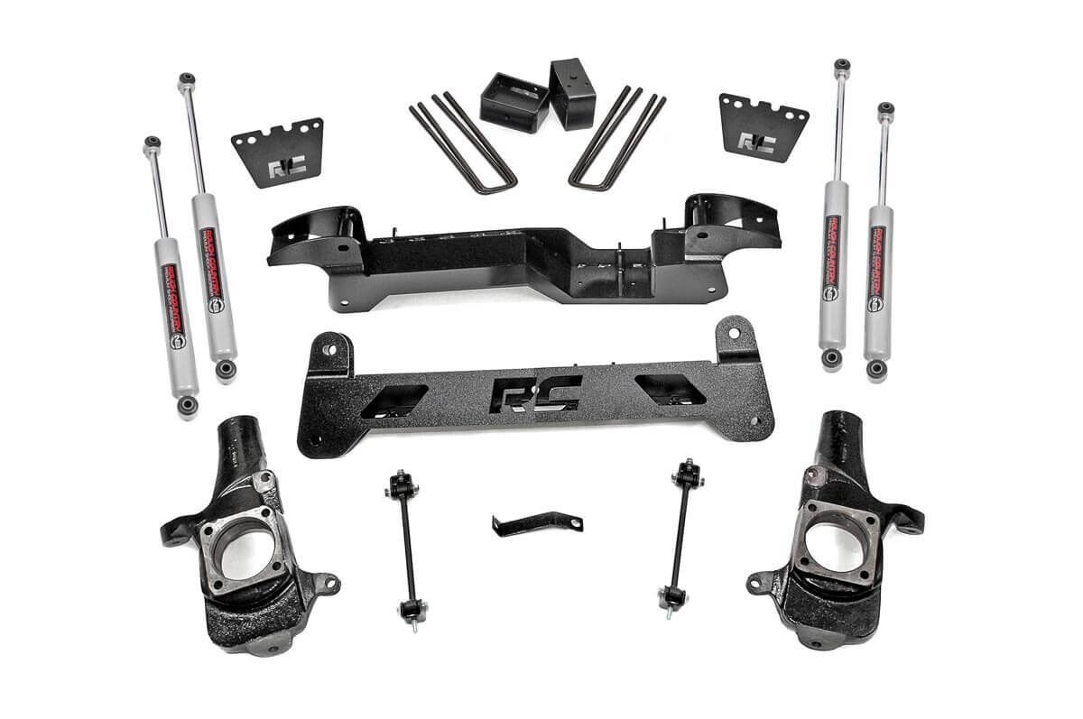 6in GM Suspension Lift Kit (01-10 2500HD | 01-06 1500HD 2WD)