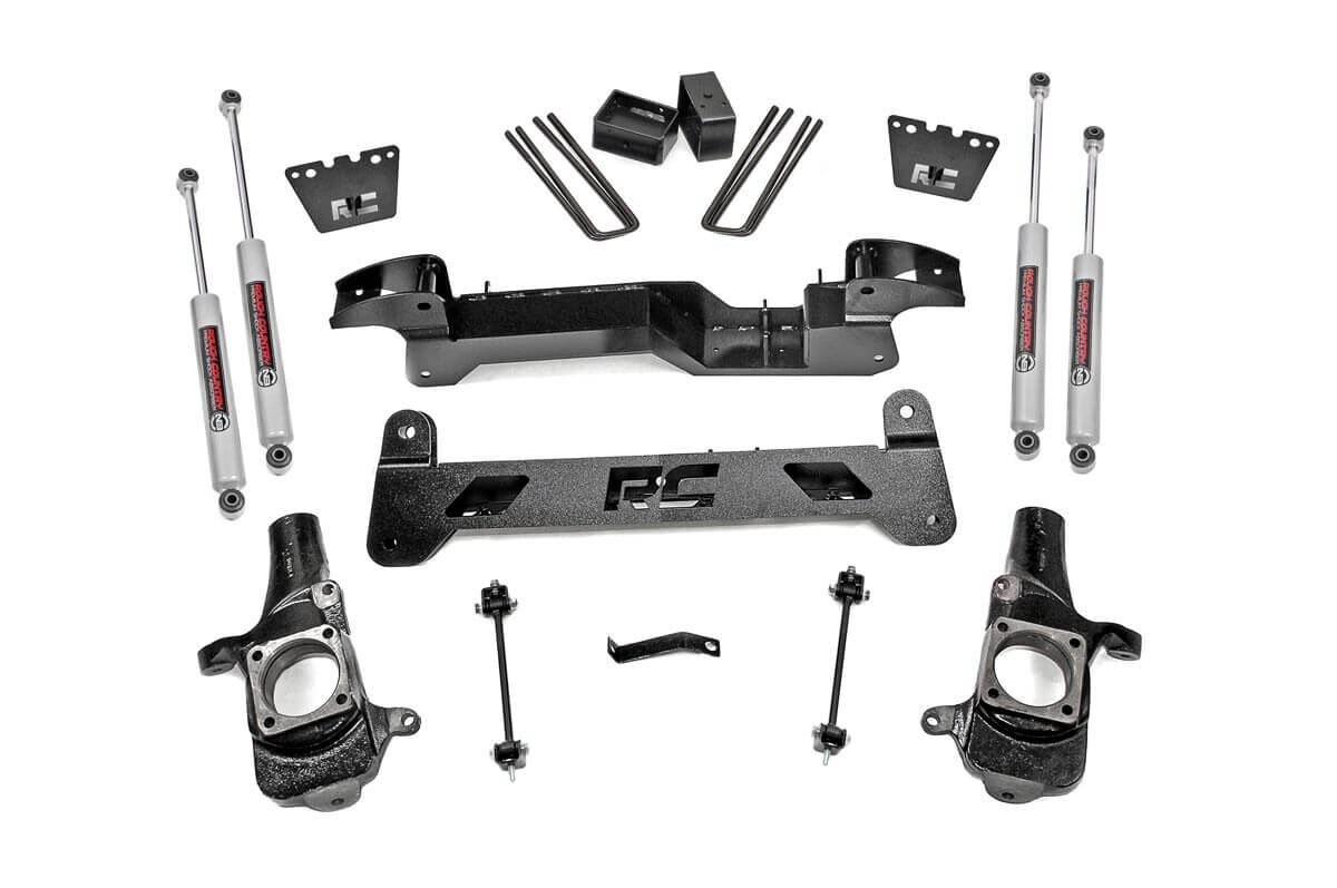 6in GM Suspension Lift Kit (01-10 2500HD | 01-06 1500HD 2WD)