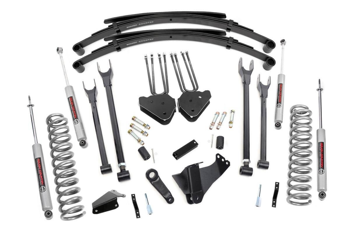 8in Ford 4-Link Suspension Lift System (05-07 F-250/350 4WD | Diesel)