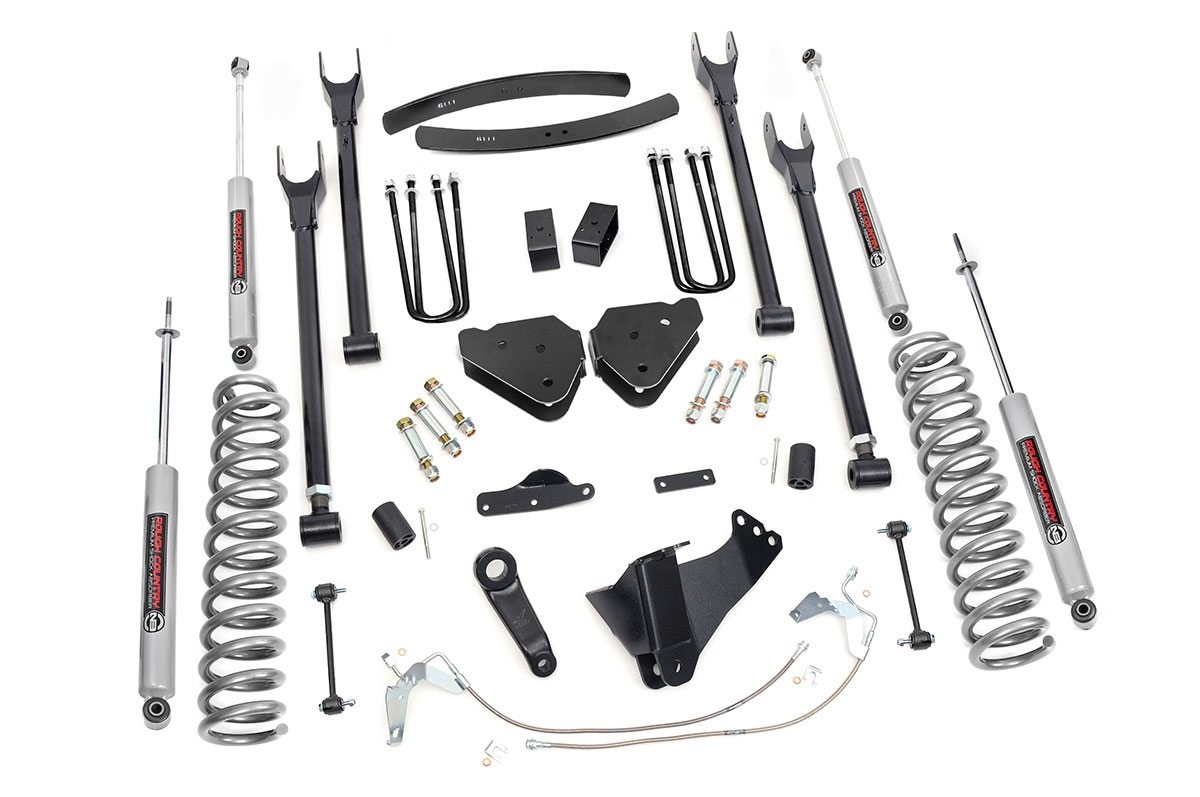 6in Ford Suspension Lift Kit | 4-Link (08-10 F-250/350 4WD)