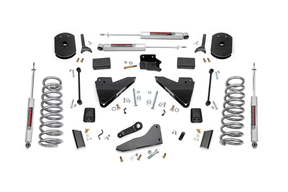 5in Dodge Suspension Lift Kit | Coil Springs | Radius Drops (14-18 Ram 2500 4WD)
