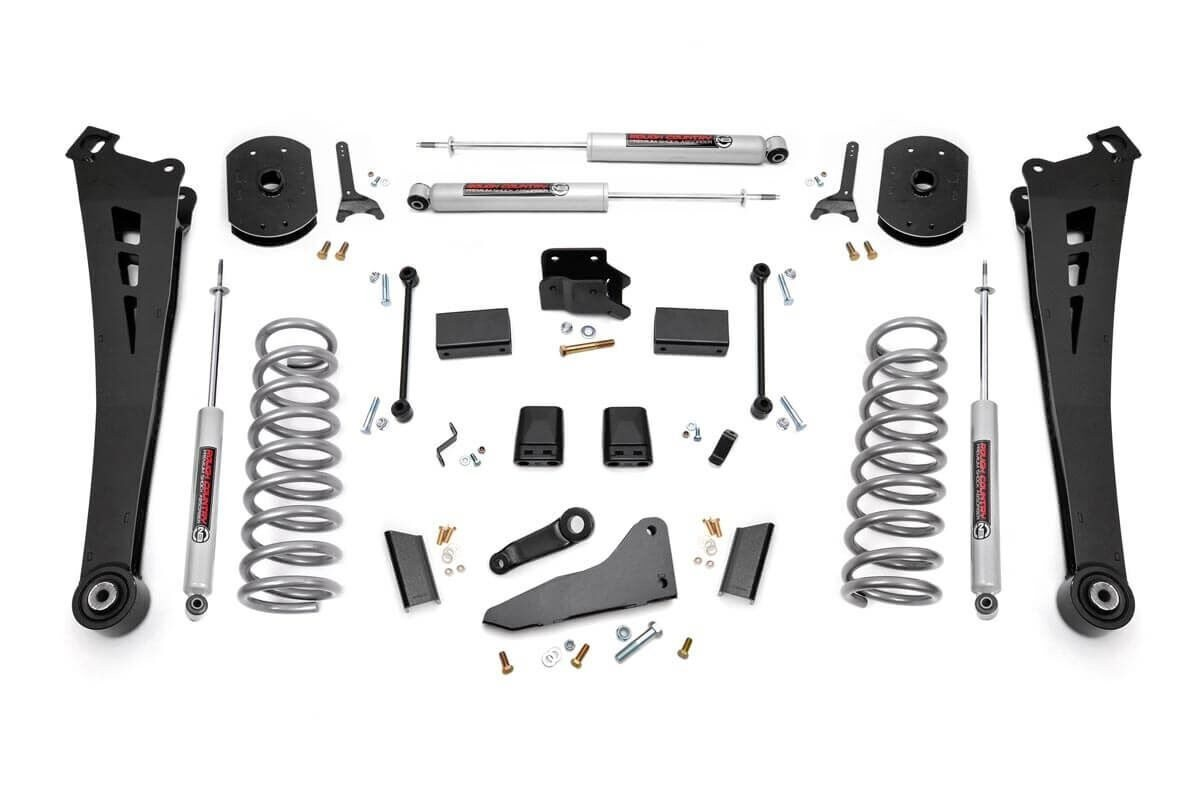 5in Dodge Suspension Lift Kit | Coil Springs | Radius Arms (14-18 Ram 2500 4WD)