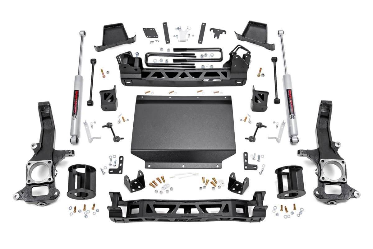 6in Nissan Suspension Lift Kit (16-19 Titan XD 4WD)