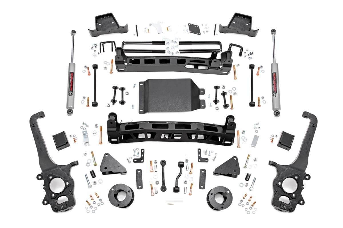 6in Nissan Suspension Lift Kit (17-19 Titan 4WD)