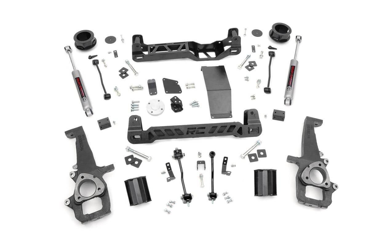 4in Dodge Suspension Lift Kit (12-18 Ram 1500 4WD)