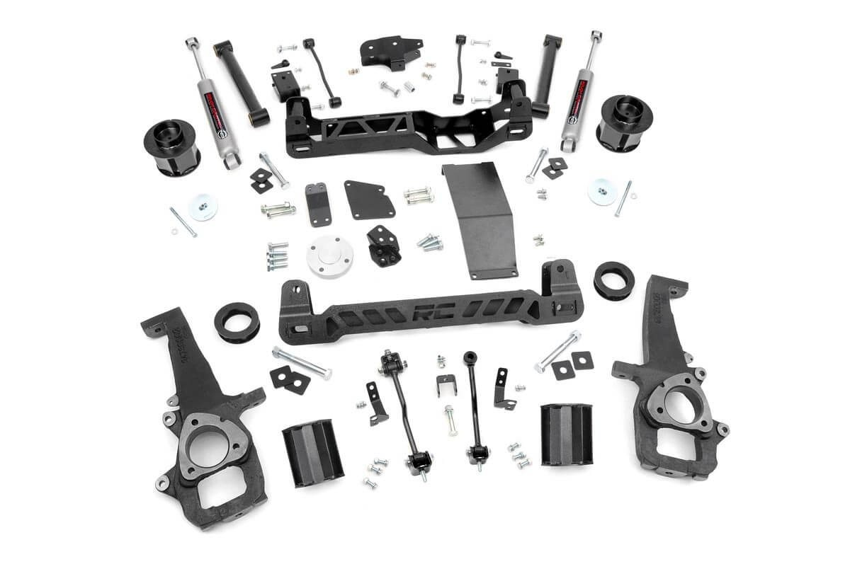 6in Dodge Suspension Lift Kit (12-18 Ram 1500 4WD)