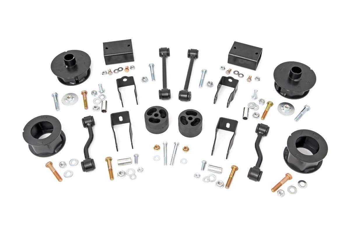 2.5in Jeep Suspension Lift Kit | Spacers (18-19 Wrangler JL)