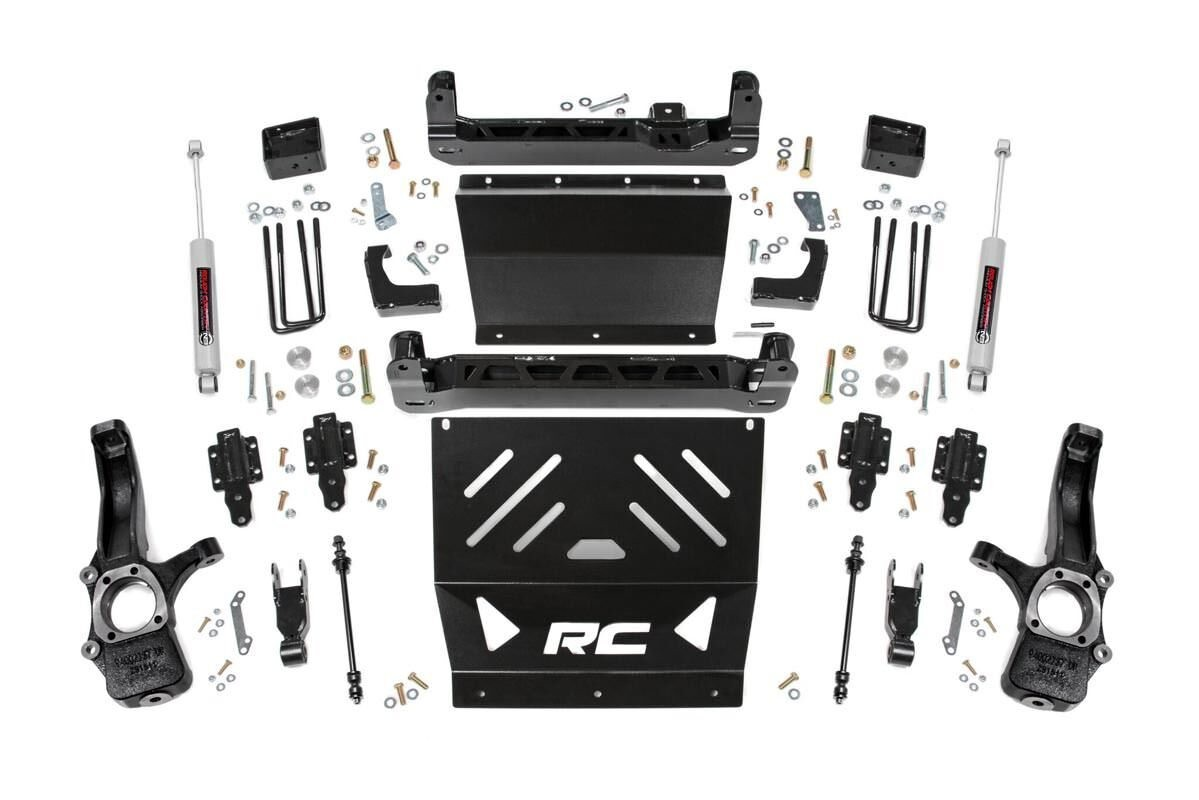 4in GM Suspension Lift Kit (15-19 Canyon/Colorado 2WD)
