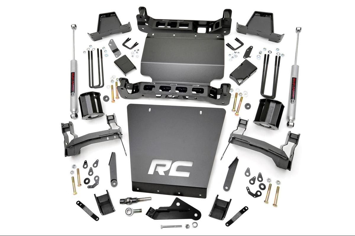 7in GM Suspension Lift | Bracket Kit (14-18 1500 PU 4WD)