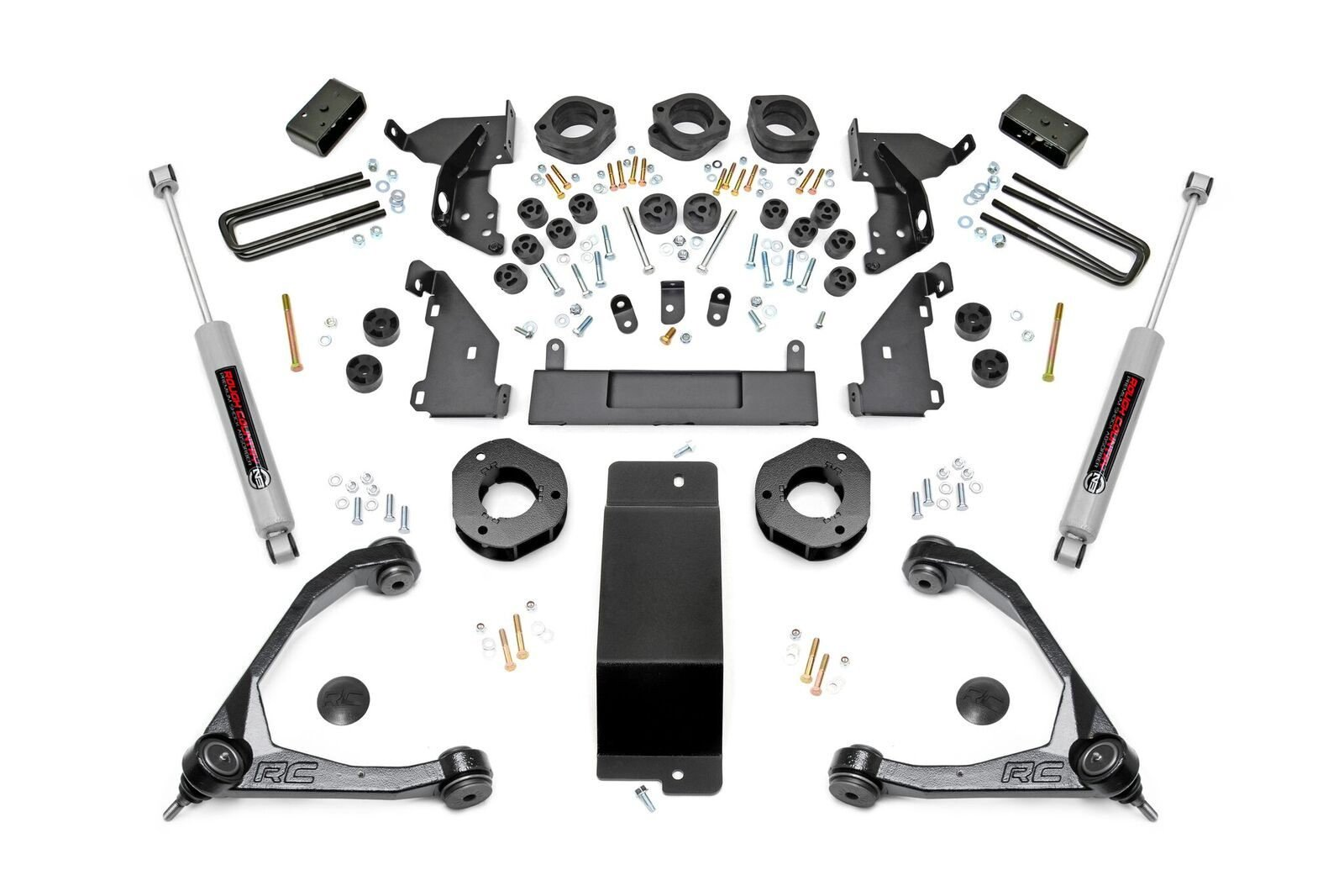 4.75in GM Combo Lift Kit w/ Forged Upper Control Arms (14-15 1500 PU 4WD)
