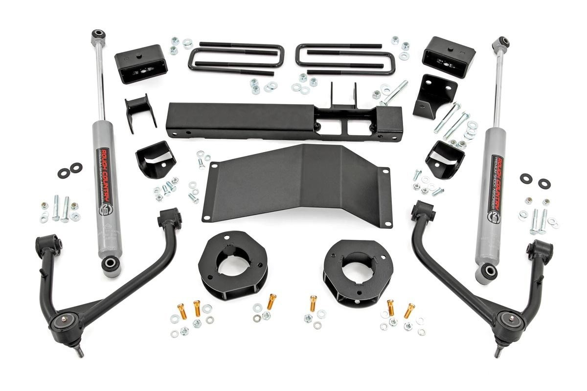 3in GM Suspension Lift Kit w/Upper Control Arms (2019 1500 PU 4WD)