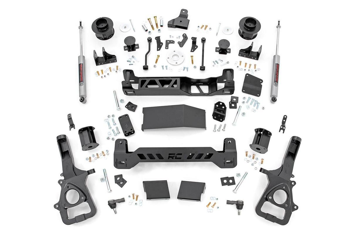 5in Ram Suspension Lift Kit (2019 Ram 1500 4WD | Air Ride)