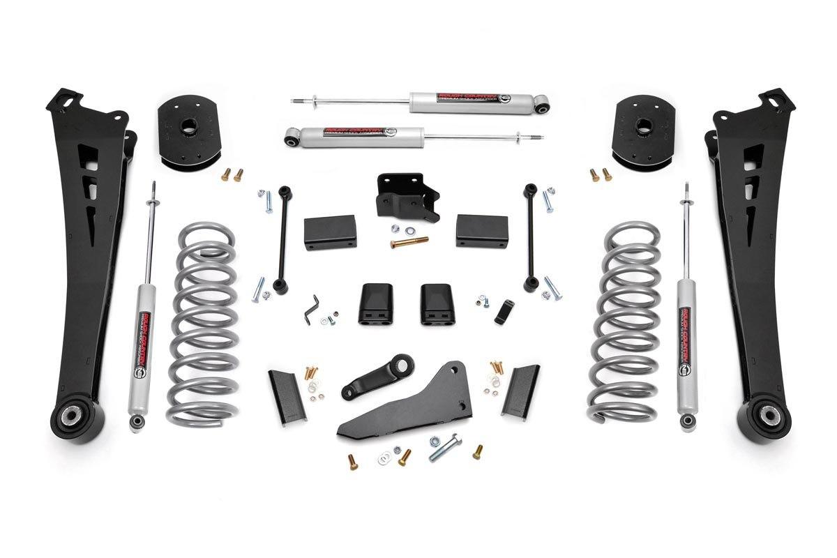4.5in Dodge Suspension Lift Kit | Coil Springs | Radius Arms (14-18 Ram Powerwagon 2500 4WD | Gas)