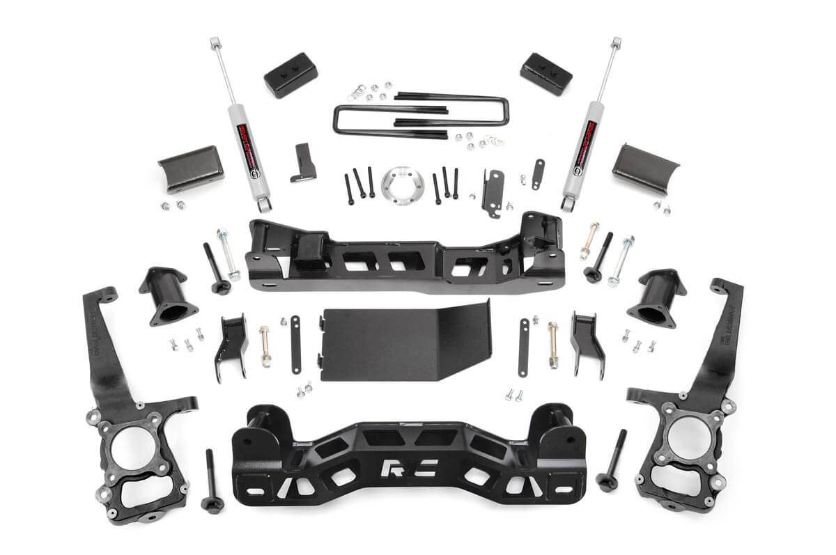 4in Ford Suspension Lift Kit (11-13 F-150 4WD)