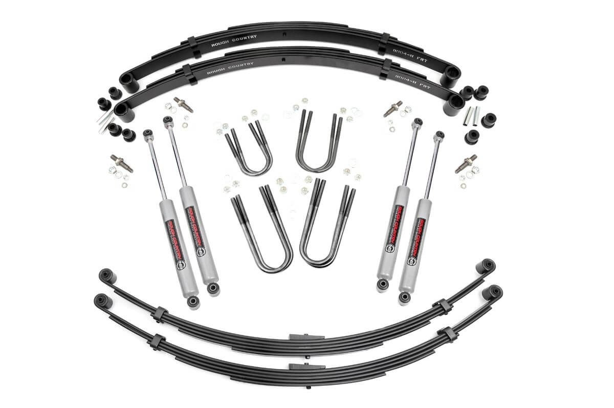 3in Jeep Suspension Lift System