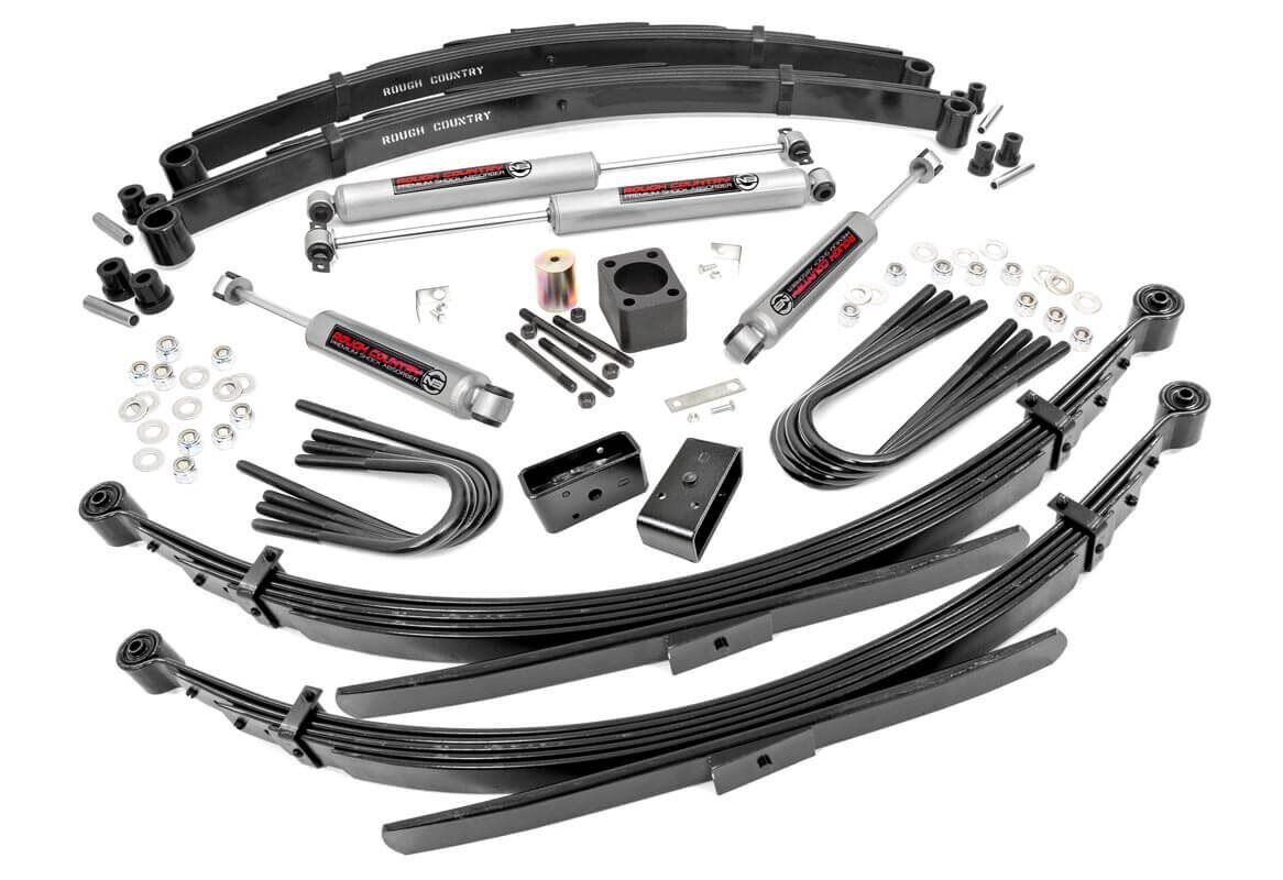 6in GM Suspension Lift System (77-91 1-Ton PU 4WD)
