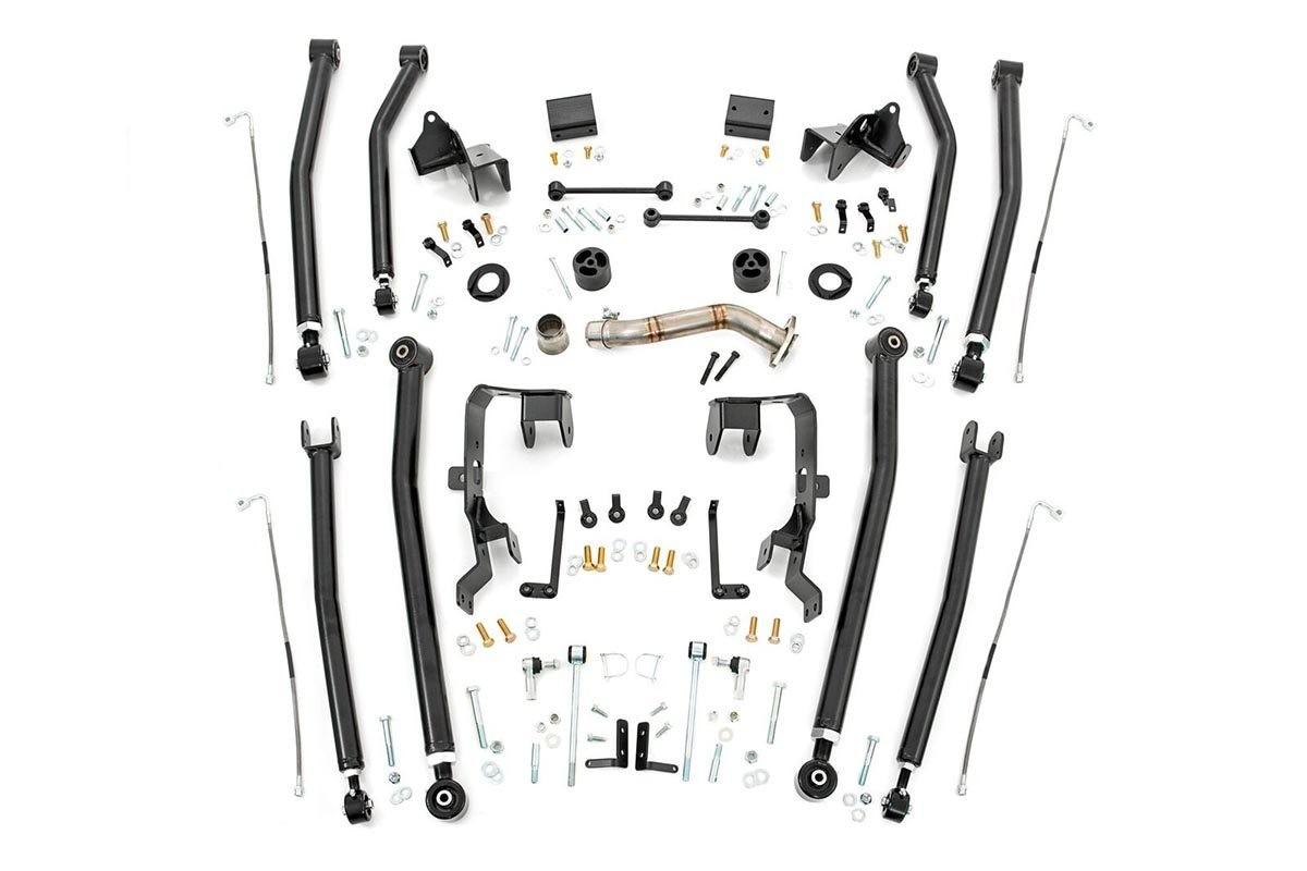4in Jeep Long Arm Upgrade Kit (07-18 Wrangler JK | 4-door)