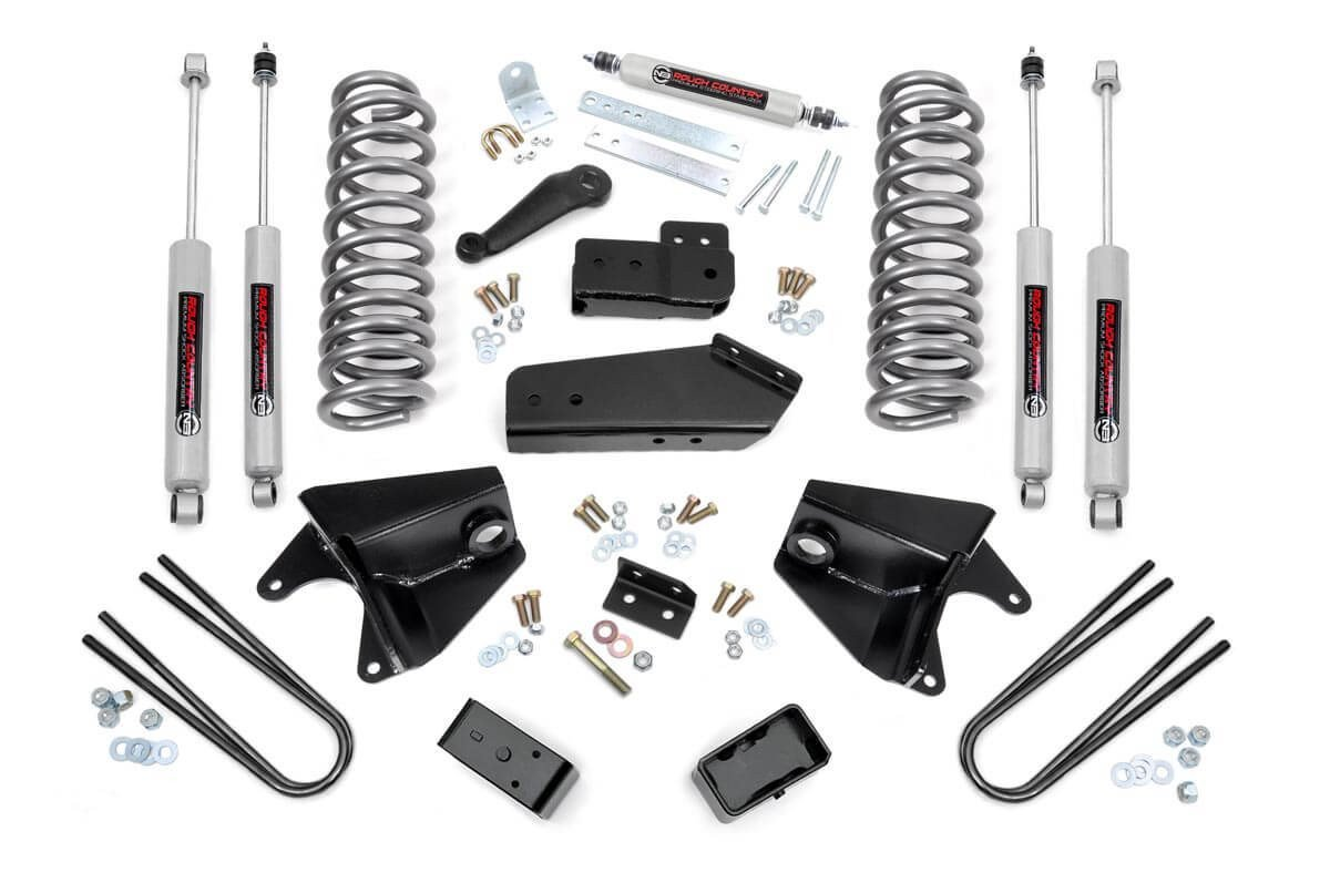 4in Ford Suspension Lift Kit (80-96 Bronco 4WD)