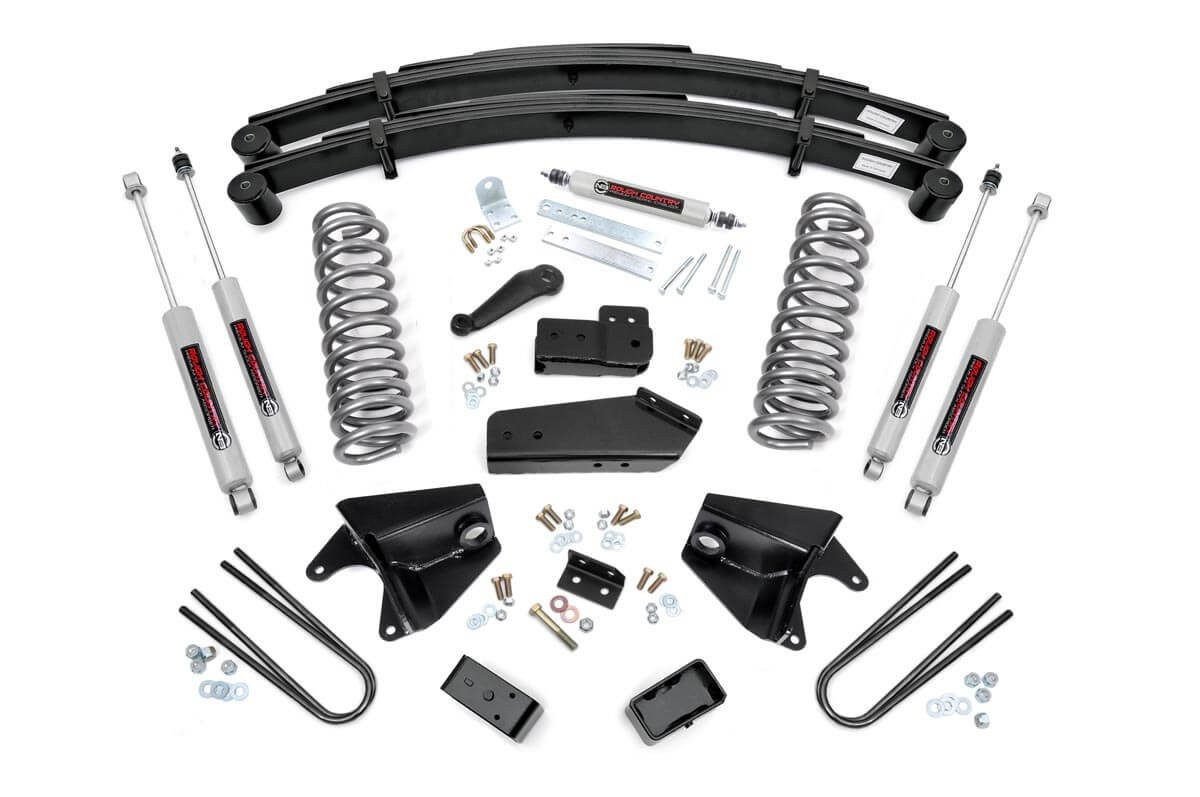 6in Ford Suspension Lift System (80-96 F-150/Bronco 4WD)