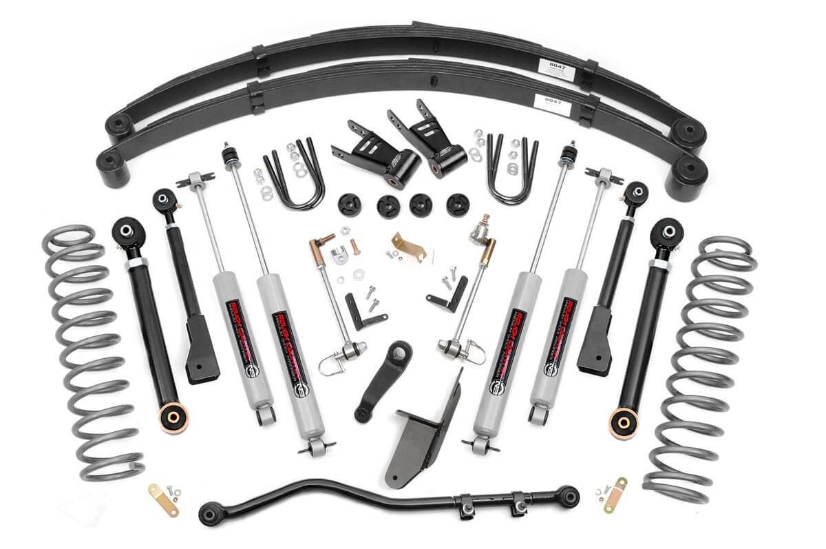 6.5in Jeep X-series Suspension Lift System (84-01 Cherokee XJ)