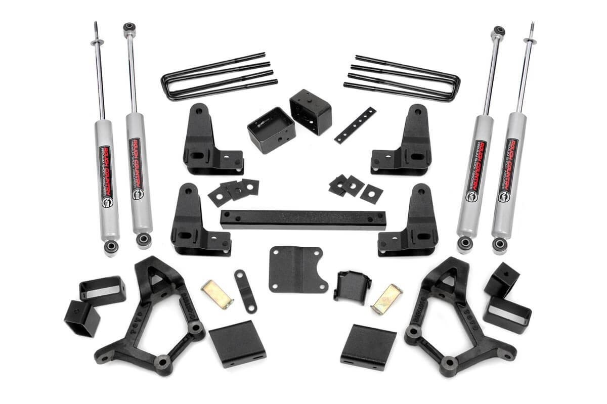 4-5in Toyota Suspension Lift Kit (Std Cab)