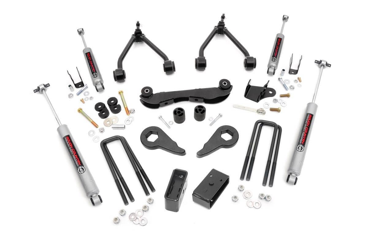 2 - 3in GM Suspension Lift Kit (Rear Blocks)