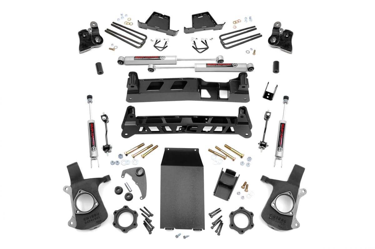 4in GM NTD Suspension Lift Kit (99-06 1500 PU)