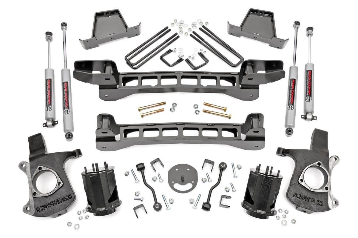 6in GM Suspension Lift Kit (99-06 1500 PU 2WD)