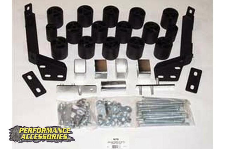 3in Dodge Body Lift Kit (97-01 Ram 1500/2500/3500 | Gas)