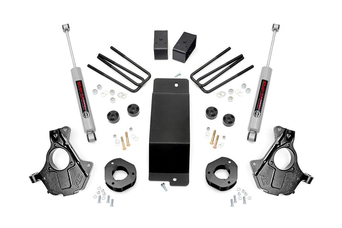 3.5in GM Suspension Lift | Knuckle Kit (07-13 1500 PU 4WD)