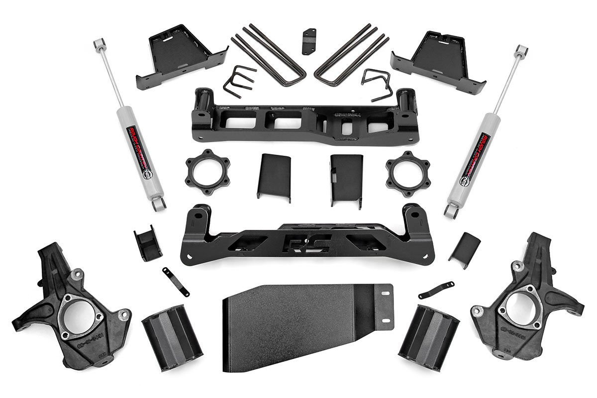 7.5in GM Suspension Lift Kit (07-13 1500 PU 4WD)
