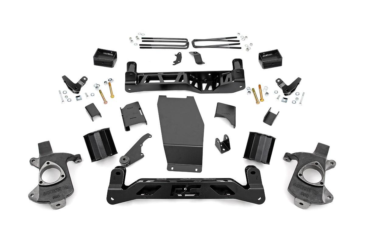5in GMC Suspension Lift Kit (14-18 1500 Denali PU 4WD w/MagneRide)
