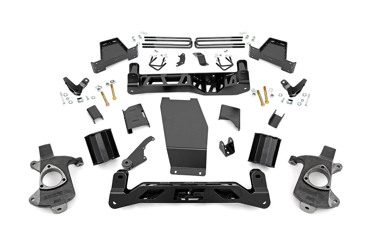 6in GMC Suspension Lift Kit (14-18 1500 Denali PU 4WD w/MagneRide)
